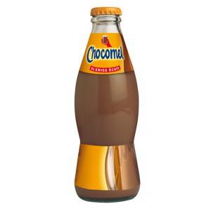 Chocomel-bottle-glas